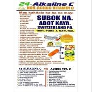 24- Alkaline C (Non-Acidic Alkaline Vitamin C)