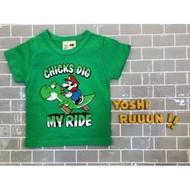 預購《🇰🇷正韓童裝✈》超級瑪莉騎恐龍T恤