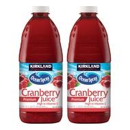 免運可刷卡 Kirkland Signature 科克蘭 蔓越莓綜合果汁 2.84公升 X 2入 好市多 #596444