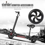 ♚joy♚Electric Scooter Solid Rear Wheel Back Tire w/Wheel Hub for Kugoo S1 S2 S3
