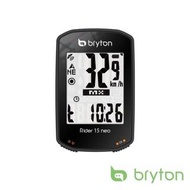 【BRYTON】Bryton Rider 15neoE GPS自行車智慧訓練記錄器(黑)