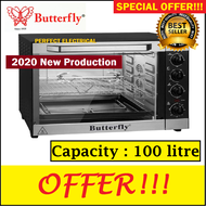[NEW ARRIVAL] Butterfly BEO-1001 / UK EUROPA TY-K1000BCL 100L / TY-K1201BCL 120L Commercial Large Capacity Electric Oven with Baking Grill Function