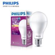 PHILIPS飛利浦 LED廣角燈泡 13.5W 黃光 1521流明  12入組 買再送賽德斯雷神之力全罩式耳機