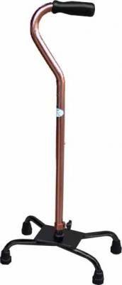 """""""富士康"""" 醫療用手杖(未滅菌) (FZK2036鋁製四腳拐杖,底座鐵製-大爪)"""