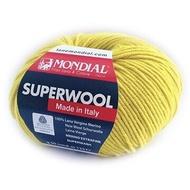【極品美麗諾毛線】夢代爾 MONDIAL Superwool 羊毛 美利諾