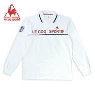 法國公雞牌長袖POLO衫 LWK2124190-男-白