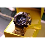 Invicta 英威塔 龍三系列 龍系列 全鋼錶帶 深海章魚 潛水500米 瑞士機芯 50MM大錶徑 三眼手錶