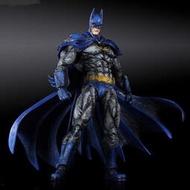 原版新品現貨,Play Arts改(絕版已久)藍色經典造型BATMAN,僅此一盒。