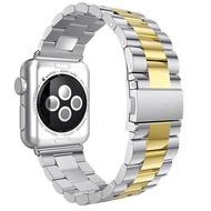 เหมาะสำหรับ Apple Watch4/5สายนาฬิกา Apple Iwatch6รุ่น Se โลหะเหล็กสแตนเลสสตีล Chain สายเหล็ก