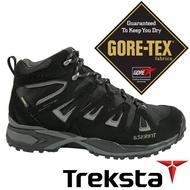 【Treksta 韓國】NEVADO LACE男GTX防水中筒健行鞋『黑』KR17CM 登山鞋.Gore-Tex