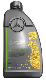 Mercedes Benz  SAE 5W30 原廠合成機油(MB 229.52) #AMEE