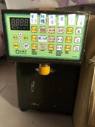 二手 定量機 給糖機 果糖機 飲料店 手搖