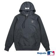 MLB-紅襪隊俐落簡約標誌帽T-深麻灰 (男)