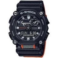 【CASIO 卡西歐】G-SHOCK 時尚工業風雙顯手錶(GA-900C-1A4)