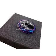 【LFM】鍍鈦 鎖頭蓋 附卡夢貼片 JET POWER NEW FIGHTER iRX GR GT RX Mii