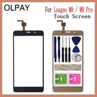 "5.7"" inch For Leagoo M8 Pro Touch Screen Digitizer For Leagoo M8 Touch Panel Touchscreen Sensor Front Glass Free Tools+Adhesive+Wipes"