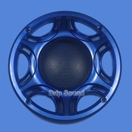 """For 6.5"""" inch Car Audio Speaker Conversion Net Cover Subwoofer Decorative Circle Metal Mesh Grille 165mm #Blue"""