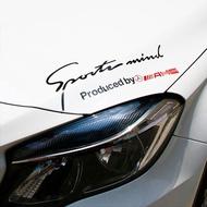 1pcs Car Light Eyebrow Sticker Car Headlight Decoration Sticker for Mercedes Benz CLK CLA GLC E200 S200 S300 S350 C300 C200 A200 Car Accessories