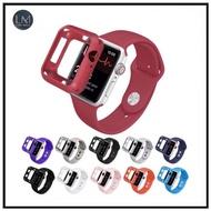 สินค้าขายดี!!! สายสำหรับ appleWatch เคส+สายFp5/w54/p90/i6/สำหรับ applewatch4สายพร้อมเคสกันกระแทรกสีสวยมาใหม่ซิลิโคนนิ่ม ขนาด 42/44 ที่ชาร์จ แท็บเล็ต ไร้สาย เสียง หูฟัง เคส ลำโพง Wireless Bluetooth โทรศัพท์ USB ปลั๊ก เมาท์ HDMI สายคอมพิวเตอร์