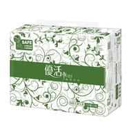 優活 抽取式衛生紙(120抽x72包)/箱