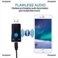 【ZXT】usb wireless adapter bluetooth 5.0 audio stereo receiver with mic for pc car