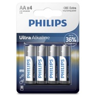 [富廉網]【PHILIPS】飛利浦 超鹼性3號電池 100顆入 (背卡)