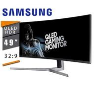 SAMSUNG 三星 C49RG90SSC 49型 32:9 VA曲面電競螢幕 附HDMI線 DP線 USB 3.0線