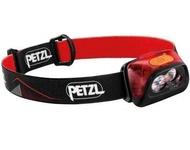 【【蘋果戶外】】Petzl E099GA01 紅 ACTIK CORE 頭燈【450流明 / IPX4】附充電電池 法國 防潑水 緊急照明