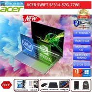 Acer Swift 3 SF314-57G-77WL/i7-1065G7/8GB/512GB SSD/MX250/14 FHD/Win10/3Y/Gray/BY NOTEBOOK STORE
