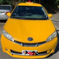 自售Toyota wish2009年計程車