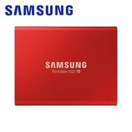 SAMSUNG 三星 T5 500GB USB3.1 移動固態硬碟金屬紅 (MU-PA500R/WW)