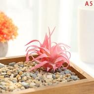 Nappa Flocking ไม้อวบน้ำประดิษฐ์พืชอุปกรณ์จัดดอกไม้พืชปลอม