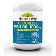 預購!!!Nature's Way Fish Oil  魚油 1000mg 200顆