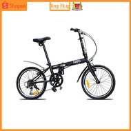 Hito Brand 20 Inch Foldable Bicycle Ultra-light Portable Male And Female Variable Speed Shu Foldable Bike.