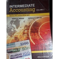Intermediate Accounting 3 Robles Empleo 2012 edition volume 3