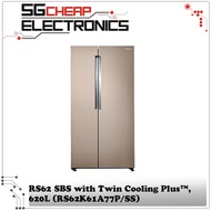Samsung Side By Side Refrigerator RS62K61A77P/SS - Singapore Warranty