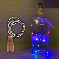 (彩光)銅線LED燈串瓶塞 酒瓶燈DIY裝飾 聖誕燈圍牆掛燈 滿天星酒瓶塞