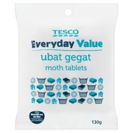 [SUPER SALE] Tesco Everyday Value Moth Tablets 130g