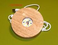 LED發光木底座 工藝品 水晶球USB燈座 LED燈座 壓克力板DIY底座 小夜燈 床頭燈 創意燈