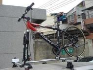 (柚子車舖) 豐田 CAMRY ALTIS VIOS YARIS WISH 快克 車頂 腳踏車架 自行車架 車頂架