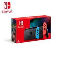 任天堂 Nintendo Switch主機 電光紅藍-電力加強版