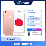 [I ANGEL] โทรศัพท์มือถือ โทรศัพท์มือสอง Apple iPhone 7 32G/128G Rom สภาพใหม่