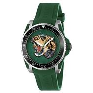 GUCCI 今年新款綠虎頭 【Ya136316】男錶 手錶 時尚錶