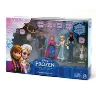 【模物】現貨 正版 冰雪奇緣 Mattel美泰兒 Disney迪士尼玩具 場景人物組