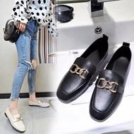 ร้านไทย ส่งฟรีรองเท้าคัชชูแฟชั่นผู้หญิง  แบบนิ่ม เบาสบายเท้า มี 2 สี H9*สีดำblack,37*ราคาต่อ 1 คู่*เก็บเงินปลายทาง