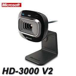 【MR3C】缺貨! 含稅附發票 Microsoft微軟 LifeCam HD-3000 V2版本 網路攝影機