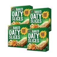 壽滿趣 - 紐西蘭MotherEarth烘培燕麥棒4盒組-即期品效期到2019/09/17-蜂蜜杏仁口味-6 bars*4