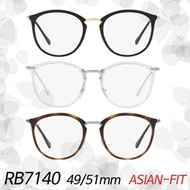 [EYELAB] RayBan RB7140 51mm 49mm Asian Fit Designer Glasses frames/Sunglass/Free delivery/100% Authe