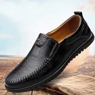 💥 ROYALLOVERS 💥 รองเท้าไม่มีส้นของผู้ชายรองเท้าคัชชูชายรองเท้าหนังชายรองเท้าคัชชู ผช
