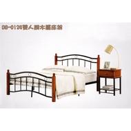6尺 雙人床架  實木床架 鐵床  5隻撐地支 (非網狀床底) 雙人床 單人床 床架
